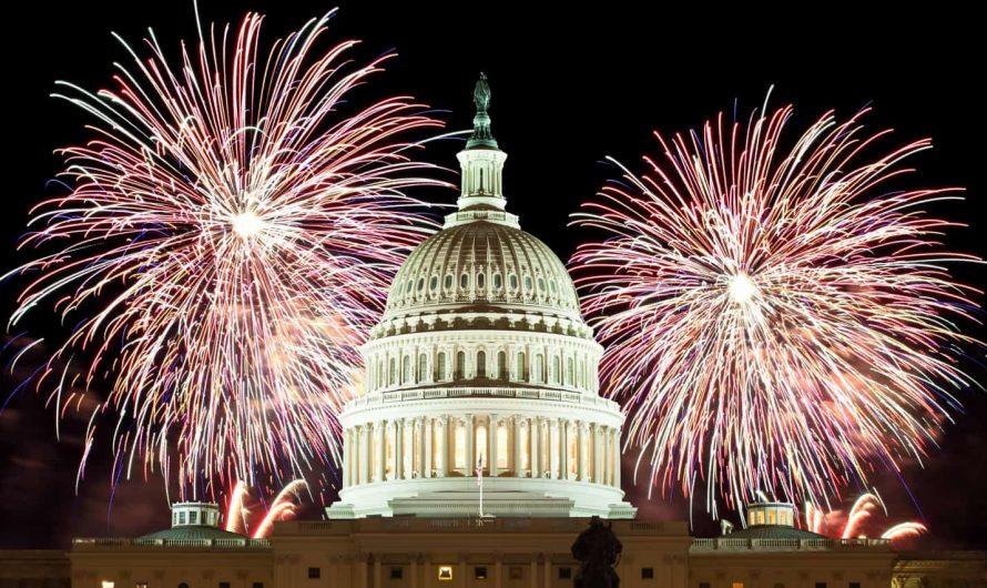 Ранения, тревожные вызовы, изъятия фейерверков. 4 июля в Вашингтоне и Лос Анджелесе