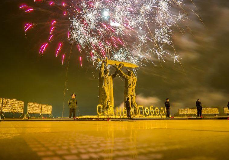 Салют на День Победы в Магнитогорске