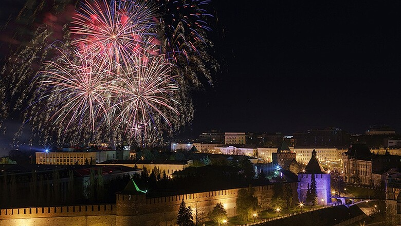 Фейерверк выходного дня появится в Нижнем Новгороде